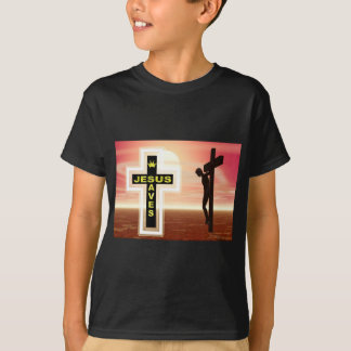 Jesus saves crucifixion picture T-Shirt