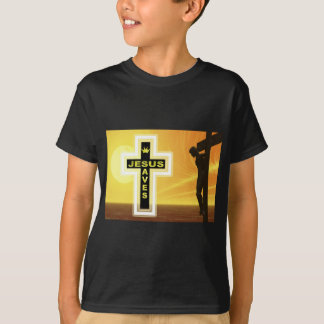 Jesus saves crucifixion picyure T-Shirt