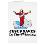 Jesus Saves in the 9th Inning