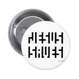 Jesus Saves logo Pinback Button