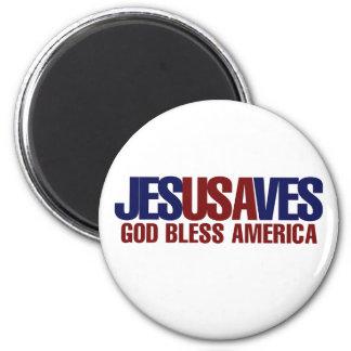 Jesus Saves Fridge Magnets