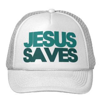Jesus Saves Mesh Hat