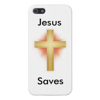 Jesus saves phone case iPhone 5 cases
