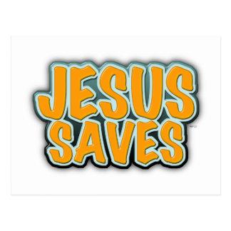 Jesus Saves Post Cards