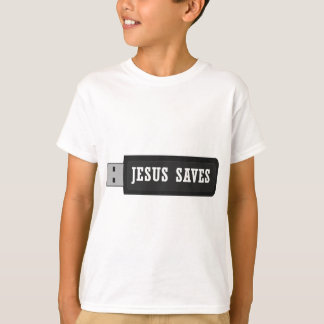 JESUS SAVES USB T-Shirt