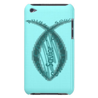 Jesus Savior Christian Fish Symbol iPod Touch Cases