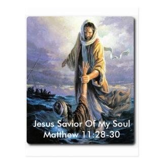 Jesus Savior Of My Soul Postcard