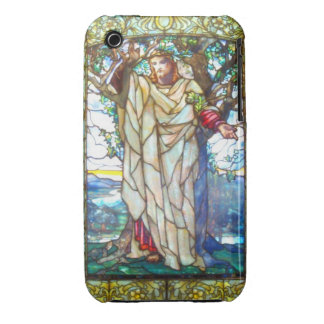 Jesus sermon on the mount - Stained Glass iPhone 3 Cover