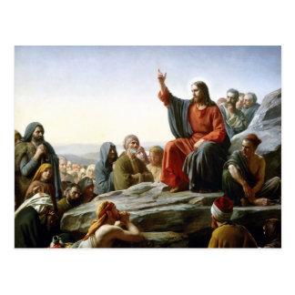 Jesus Sermon Postcard