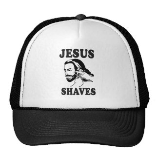 JESUS SHAVES CAP