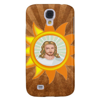 JESUS SHINING BRIGHT SUN GALAXY S4 CASE
