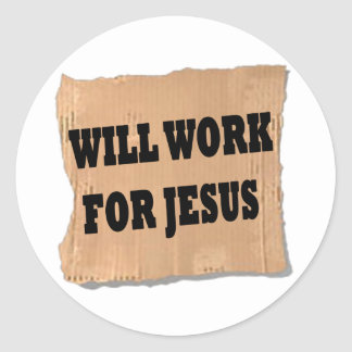 Jesus Sign Stickers