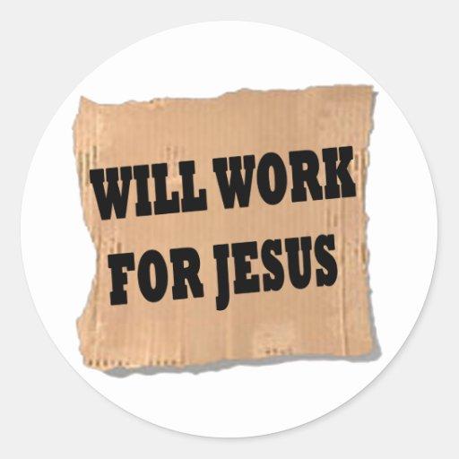 Jesus Sign (Stickers)