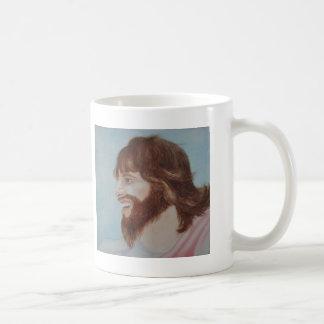 Jesus Smiling Basic White Mug