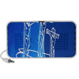 JESUS SON OF GOD HOME BLESSING CUSTOMIZABLE PRO MP3 SPEAKERS