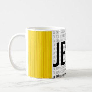 Jesus Spanish Coffee Mug