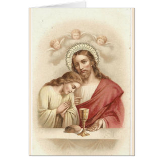 Jesus & St. John the Apostle Prayer Card