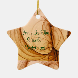 Jesus Star Ornament