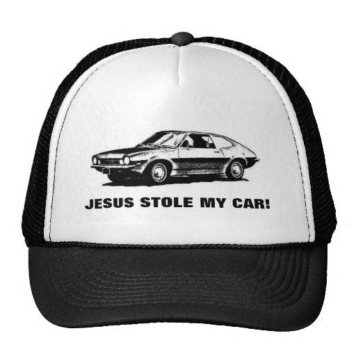 JESUS STOLE MY CAR! MESH HAT