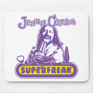 Jesus Superfreak Mouse Pads