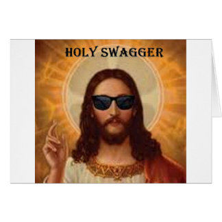 Jesus swagger jpg card