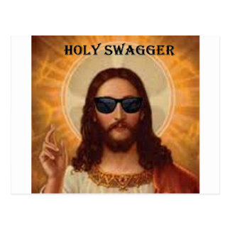 Jesus swagger jpg post cards