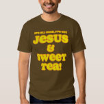 Jesus & Sweet Tea Shirt yellow