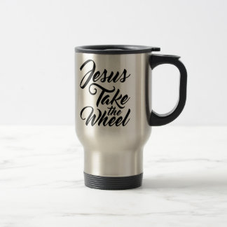Jesus Take the Wheel Travel Mug