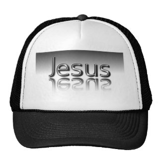 Jesus Text Christian Mirrored Design Cap