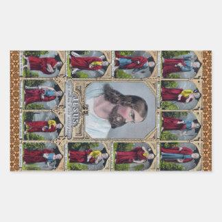Jesus & The 12 Apostles Stickers