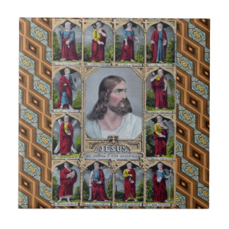 Jesus & The 12 Apostles Tile