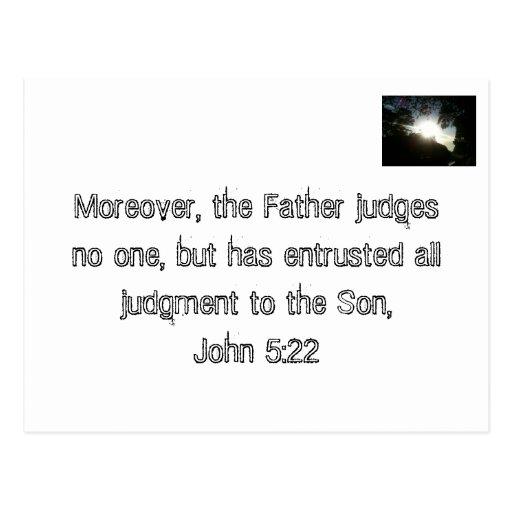 Jesus, the Final Judge Postcards
