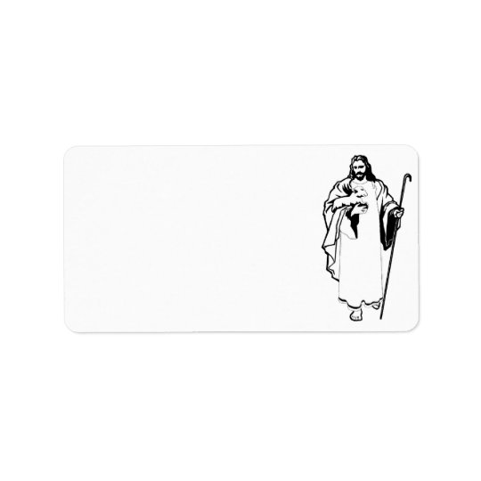 Jesus & The Lamb Address Label