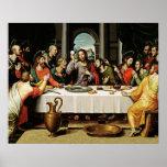 Jesus The Last Supper Poster - Ultima Cena
