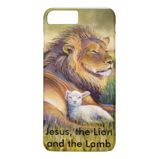 Jesus, the lion and the Lamb iPhone 7 Plus Case