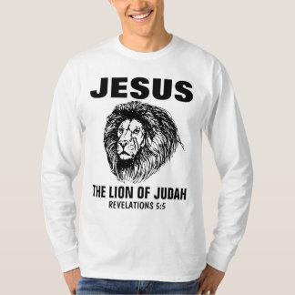 JESUS THE LION OF JUDAH, Christian t-shirts