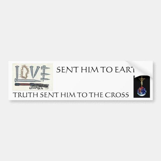 Jesus, the Messiah Bumper Sticker