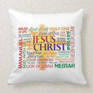 JESUS the name above all names Cushion
