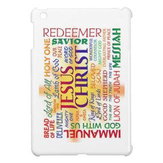 JESUS the name above all names iPad Mini Cases