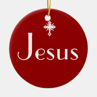 Jesus the Reason Christmas Ornament
