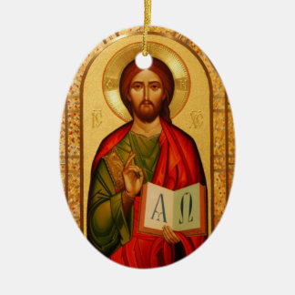 Jesus the Teacher Christmas Ornament