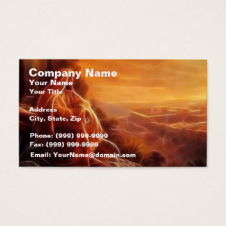 Jesus Thinking About You Business Card