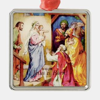 Jesus  Three Wise Men Christmas Ornaments
