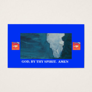 JESUS TOUCHED THEM BUSINESS CARD