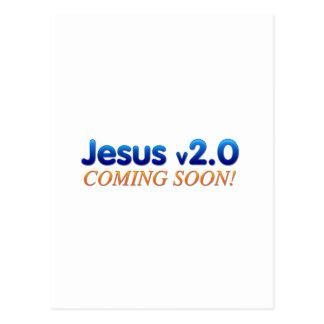 Jesus v2.0 postcards