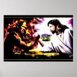 Jesus Vs Satan - Armegeddon Posters