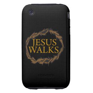 Jesus Walks iPhone 3 Tough Cases