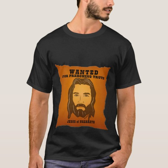 Jesus Wanted Poster Tee