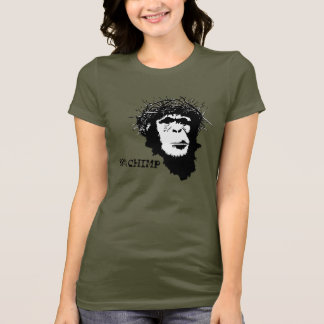 Jesus was 98% Chimp atheist shirt