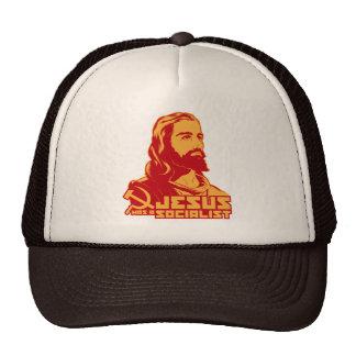 Jesus was a Socialist Hats